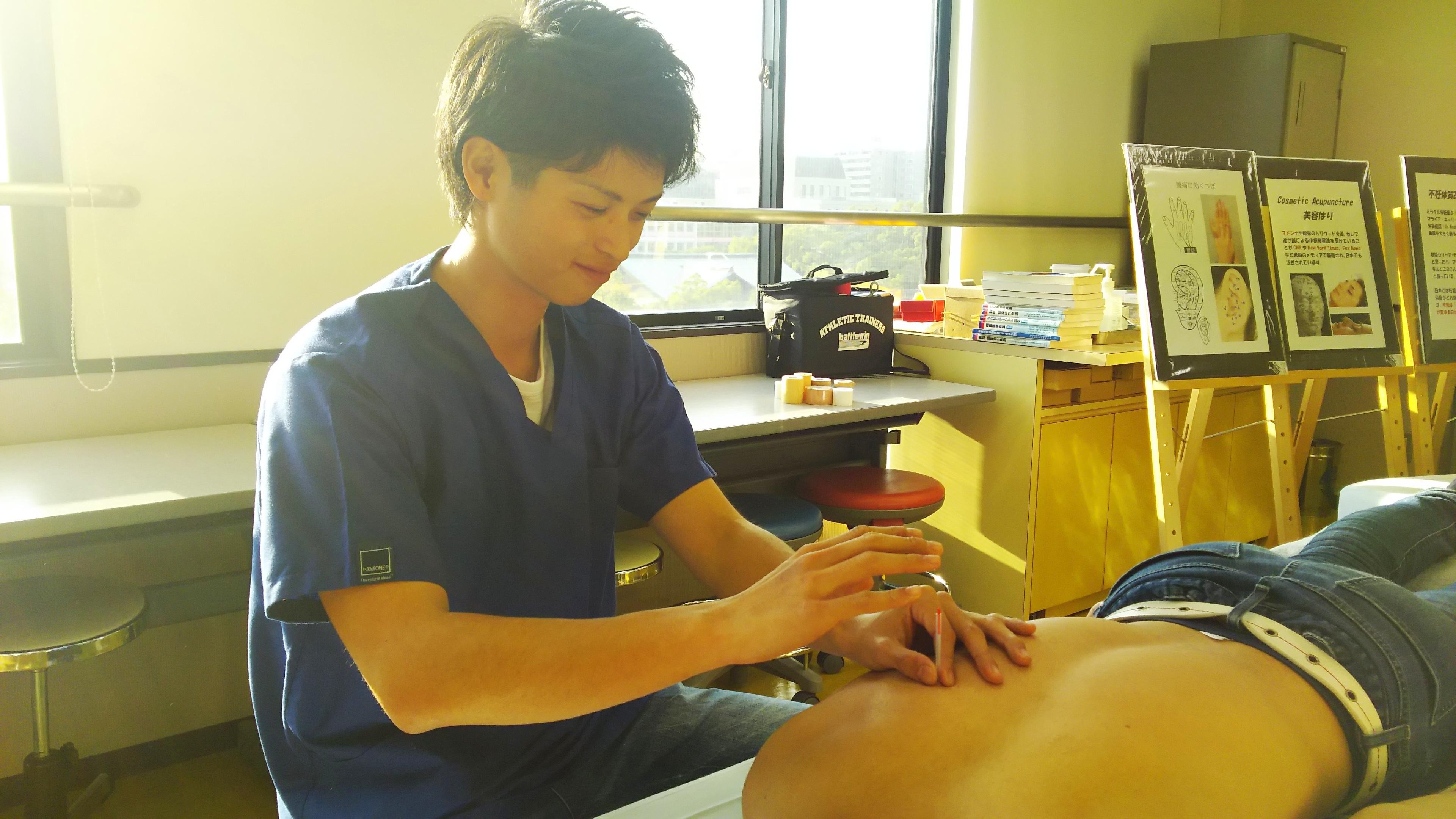 鍼灸の仕事
