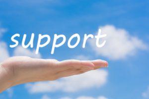 対象者(患者)をサポートするタイプ