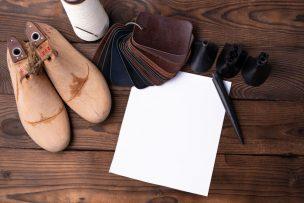 靴つくりに必要な道具