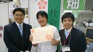 【介護福祉士科】2年生★福祉の就職フェアに参加したら、卒業生がいっぱい!!