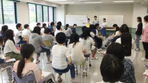 【介護福祉士科】1年生★レクリエーションの授業の雰囲気を紹介!